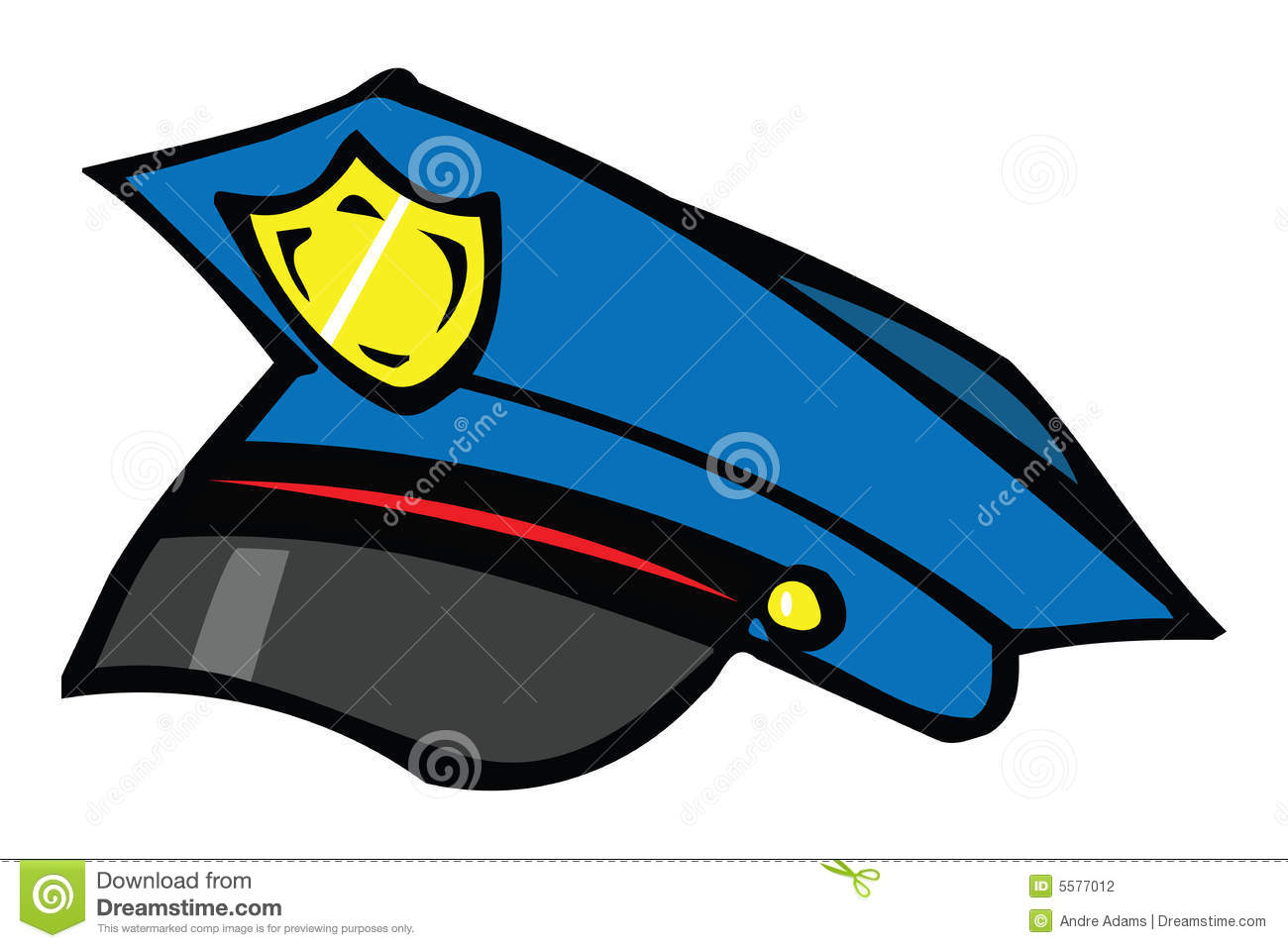 Police Hat Clip Art Police Officer Hat Clipart