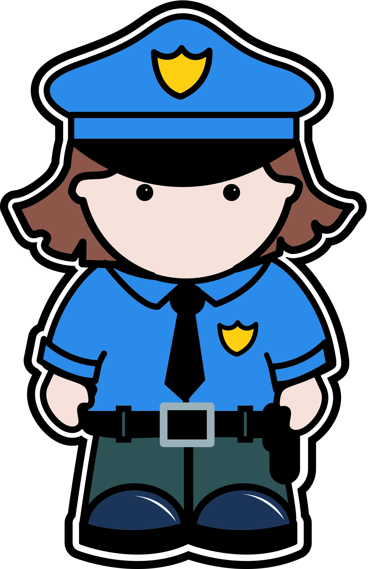 Police officer free clipart images