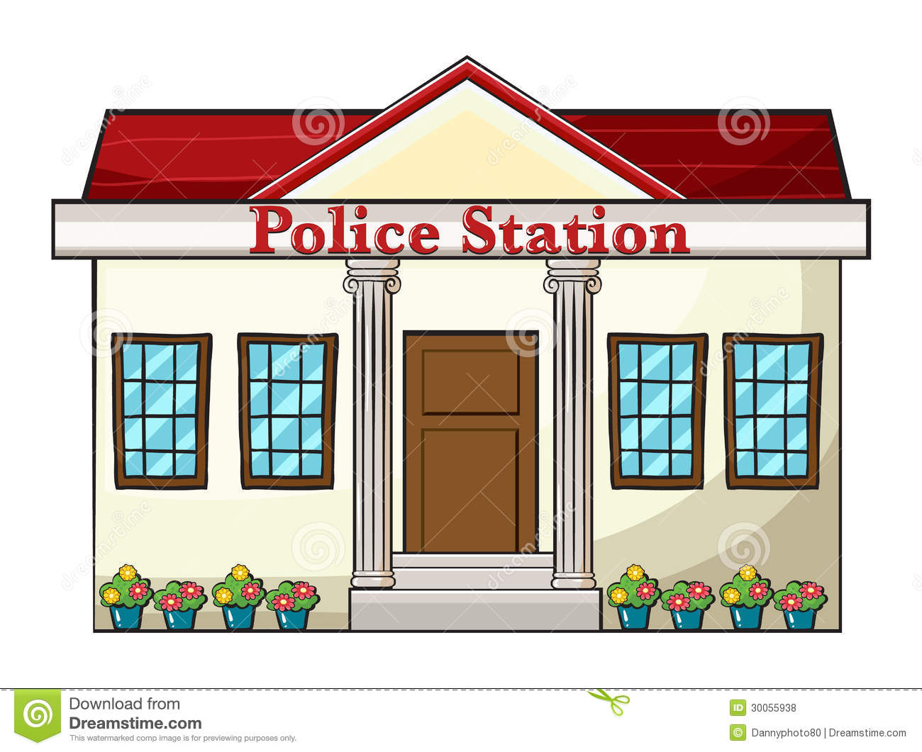 Police Station Royalty Free Stock Photos-Police Station Royalty Free Stock Photos Image 30055938-11