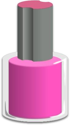 Polish Nail Polish Bottle Pink A Public -Polish Nail Polish Bottle Pink A Public Domain Png Image-14