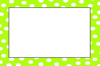 Polka Dot Border Clip Art Clipart Best