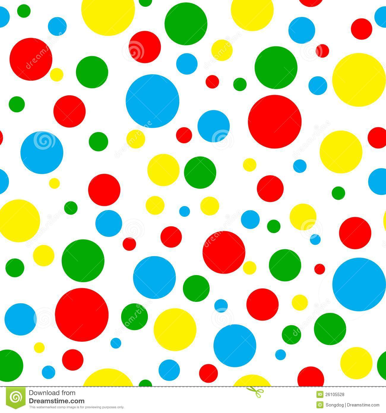 Polka dot clipart free - ClipartFest