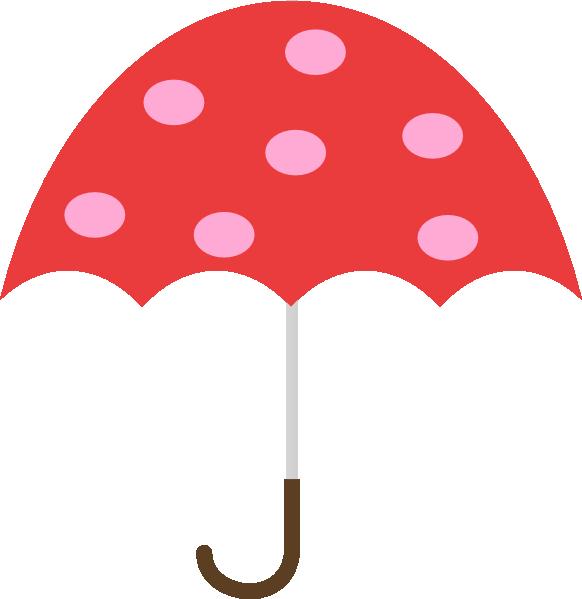 Polka Dot Umbrella Clip Art At Clker Com-Polka Dot Umbrella Clip Art At Clker Com Vector Clip Art Online-8