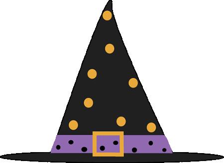 Polka Dot Witch Hat Clip Art Polka Dot Witch Hat Image