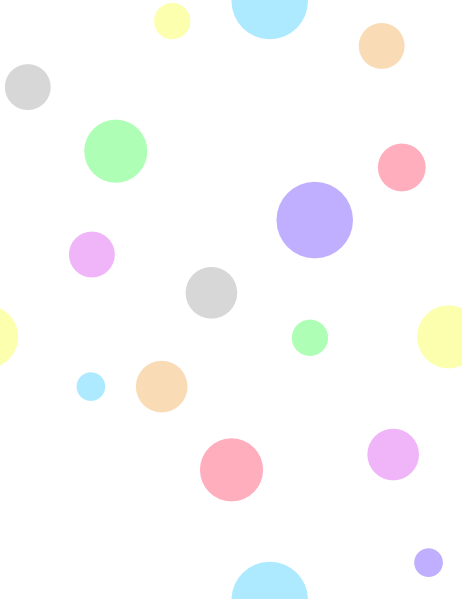 Polka Dots In Pastel Colors Clip Art At Clker Com Vector Clip Art