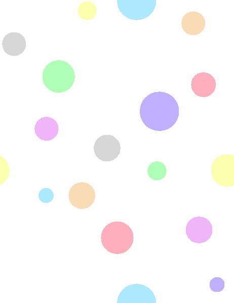 Polka Dots In Pastel Colors Clip Art At -Polka Dots In Pastel Colors Clip Art At Clker Com Vector Clip Art-11