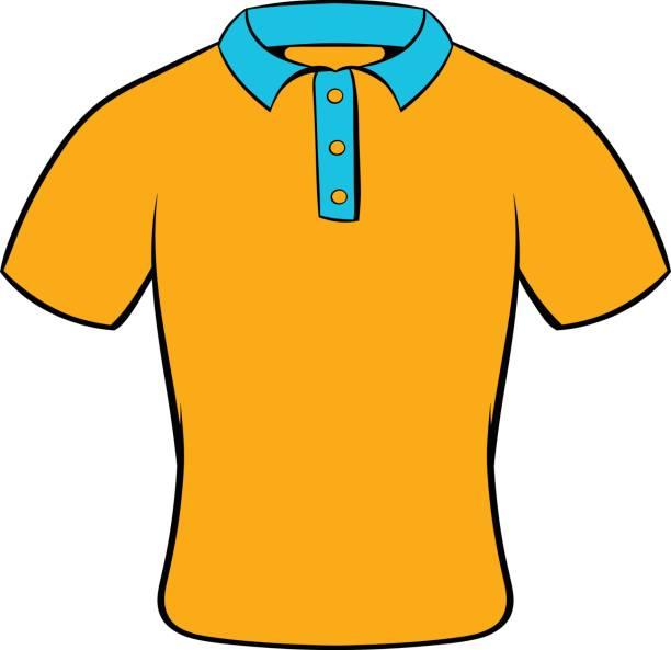 Mens Polo Shirt Icon Cartoon Vector Art -Mens polo shirt icon cartoon vector art illustration-7