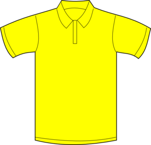 Yellow Polo Shirt Clip Art