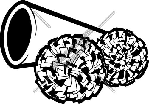 Pom Pom Clip Art - Pom Poms Clipart