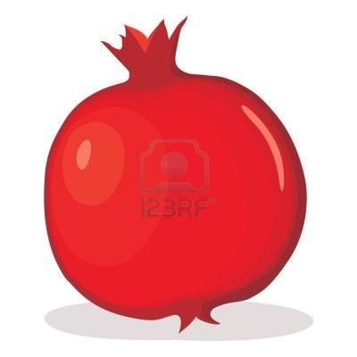 pomegranate clipart