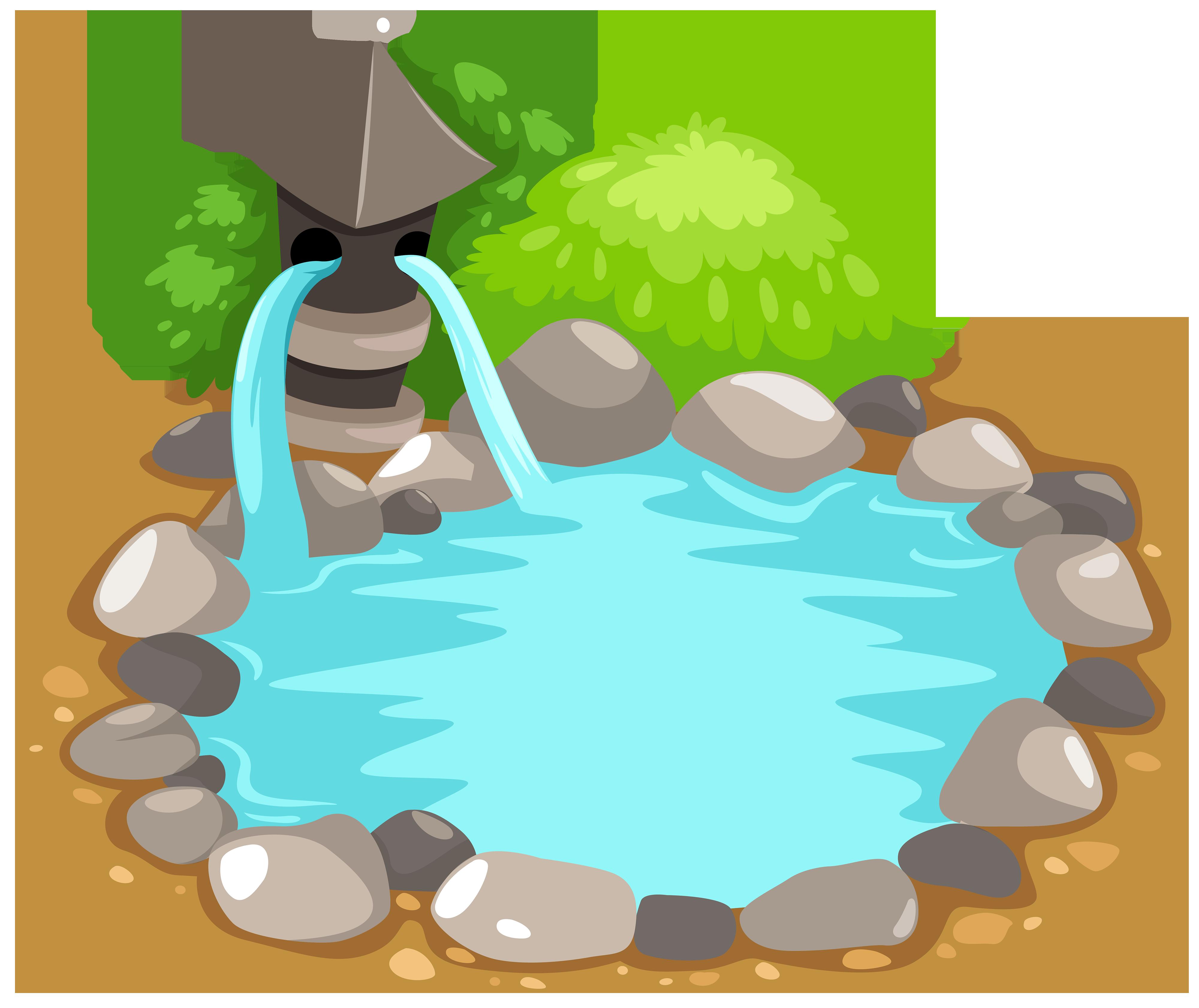 Pond clipart web