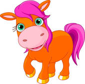 pony girl; pony riding ...