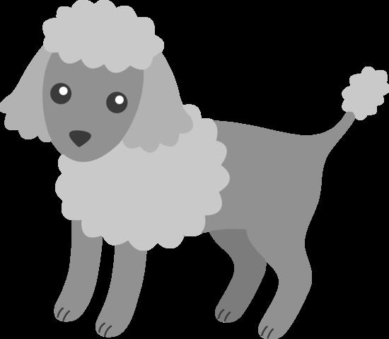 poodle puppy free clip art .