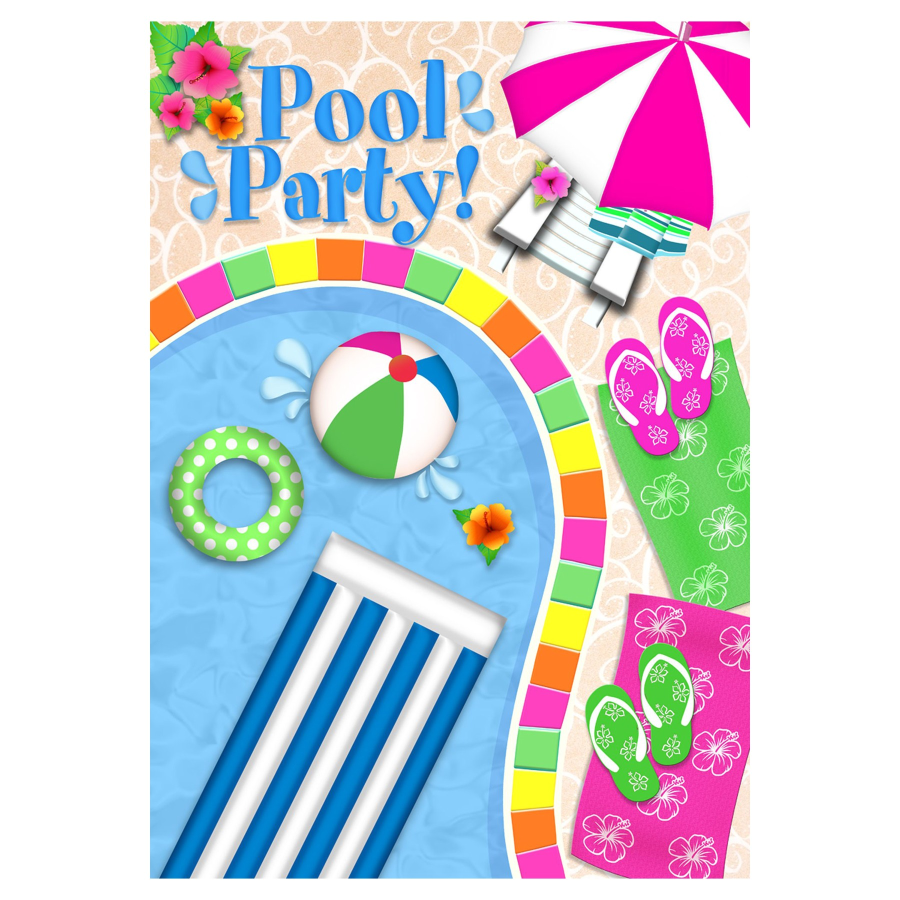 pool clipart - Pool Party Pictures Clip Art