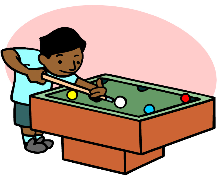 Pool Clipart - Pool Table Clipart