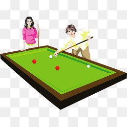 billiards game, Club, Table,  - Pool Game Clipart