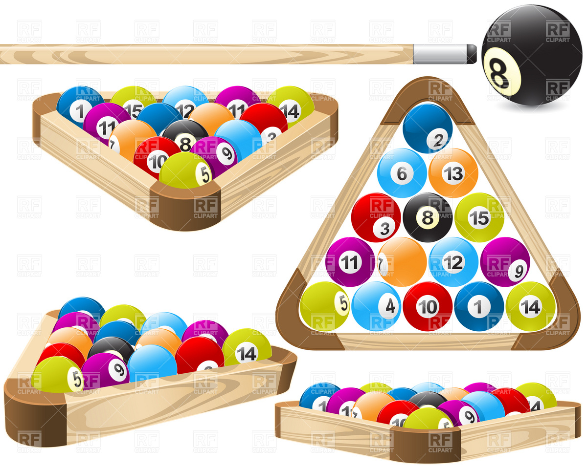 Pool rack (billiards) Royalty Free Vecto-Pool rack (billiards) Royalty Free Vector Clip Art-12