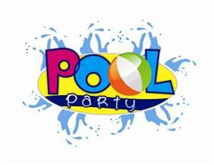 Pool Party Clip Art