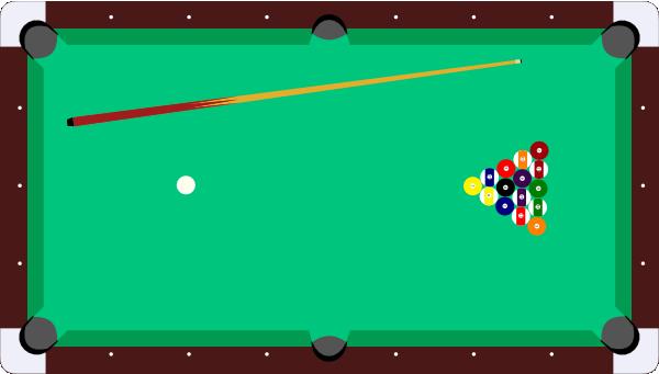 Pool Table Cue Balls Clip Art At Clker Com Vector Clip Art Online
