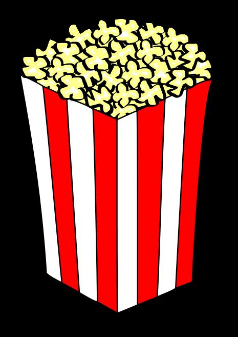 Popcorn Clip Art Black And White Free Cl-Popcorn clip art black and white free clipart images-10