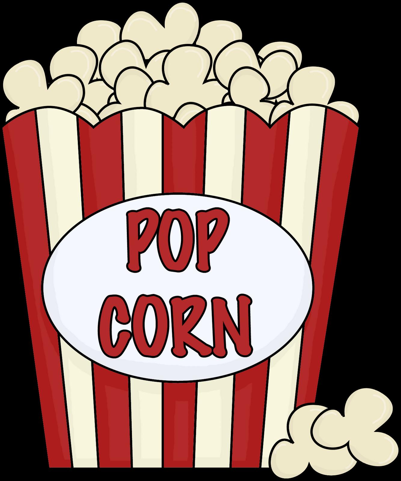 Popcorn Clip Art Black And White Outline-Popcorn clip art black and white outline free-11