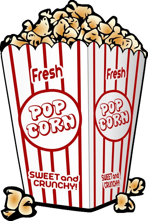 Popcorn Clip Art-Popcorn Clip Art-14