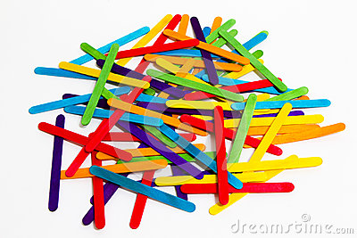 Popsicle Sticks Scattered.-Popsicle Sticks Scattered.-16