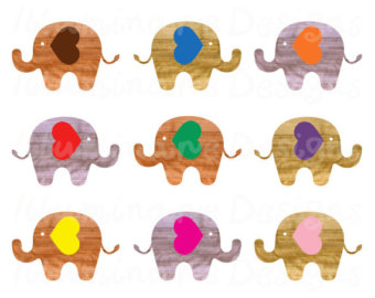Popular items for elephant cl - Free Commercial Use Clipart