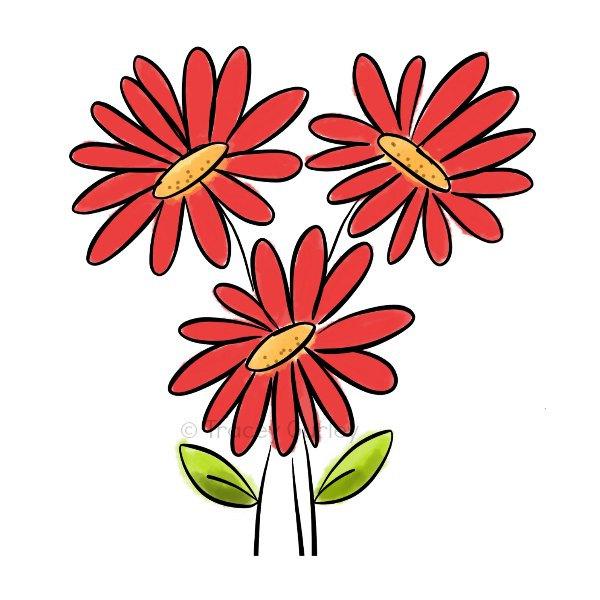 Popular items for gerbera daisy clip on Etsy
