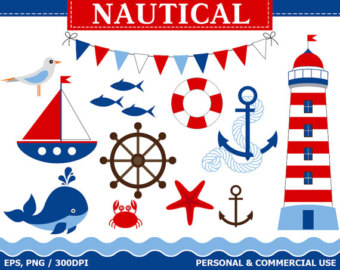 Popular items for nautical clip on Etsy