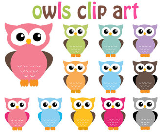 Popular items for owls clip a - Free Commercial Use Clipart