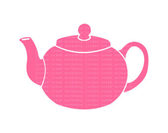 Popular Items For Teapot Clip Art On Ets-Popular items for teapot clip art on Etsy-4