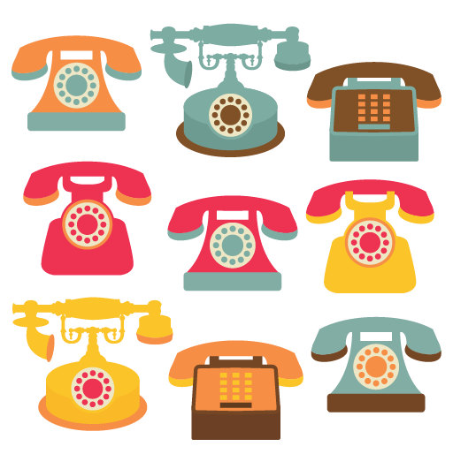 Popular Items For Telephone Clip Art On -Popular items for telephone clip art on Etsy-11