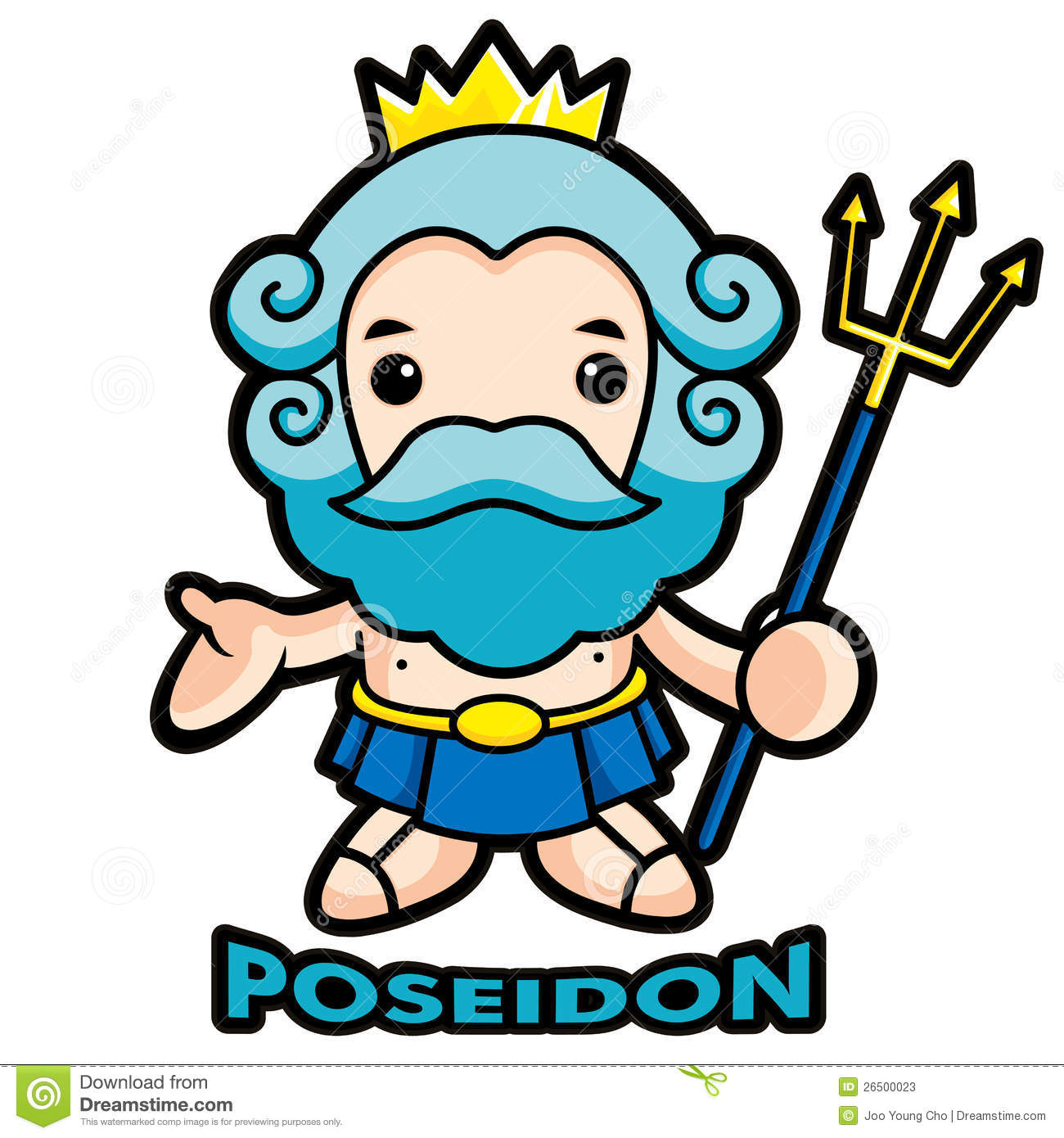 ... Poseidon Clip Art ...
