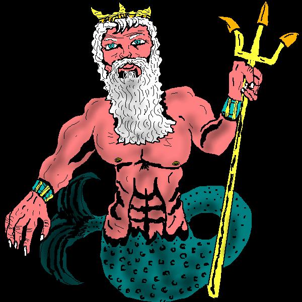 Poseidon Clip Art Poseidon Png-Poseidon Clip Art Poseidon Png-5