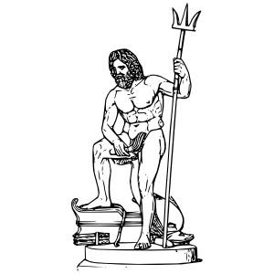 ... Poseidon clip art - vector clip art -... Poseidon clip art - vector clip art online, royalty free u0026amp; p .-12