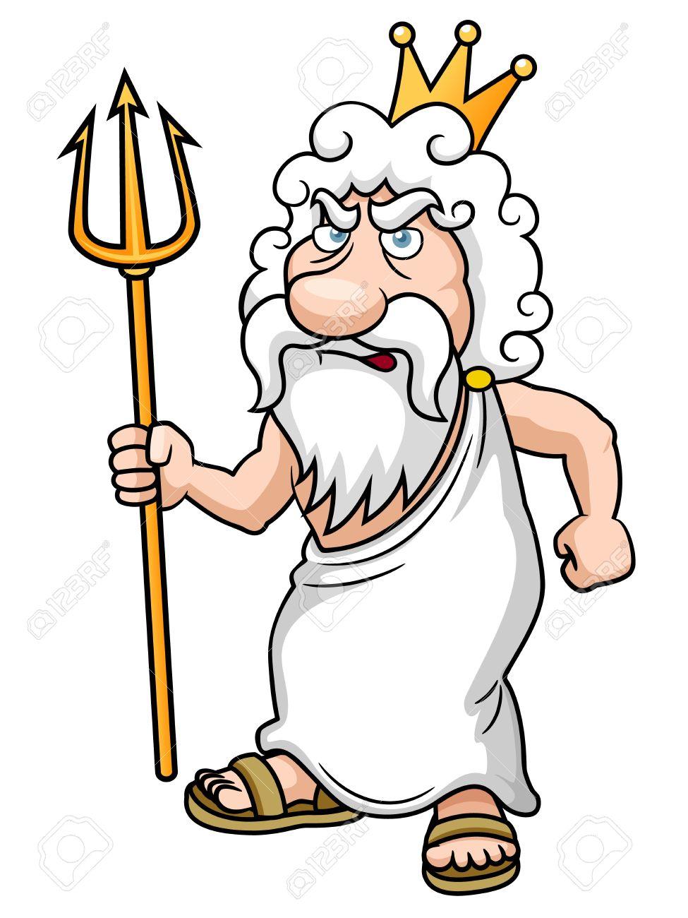 Poseidon with Trident .-Poseidon with Trident .-19