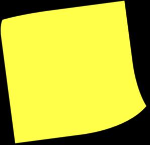 Post It Note Clip Art At Clker Com Vector Clip Art Online Royalty