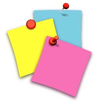 Post it note clip art - ClipartFest