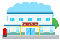 post office building clipart. Size: 70 Kb
