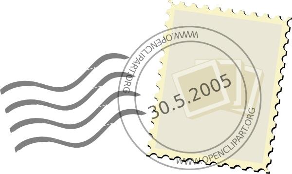 Postage Stamp Clip Art-Postage Stamp clip art-8