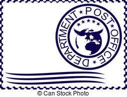 ... Postage stamp - The form of a postage stamp with the imprint.