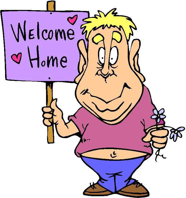Poster Welcome Home Clipart