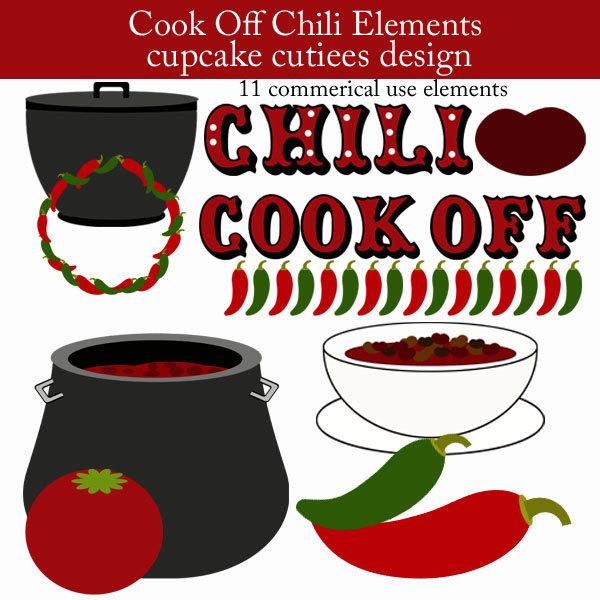 Pot Of Chili Clip Art Chili Cook Off Element Clip