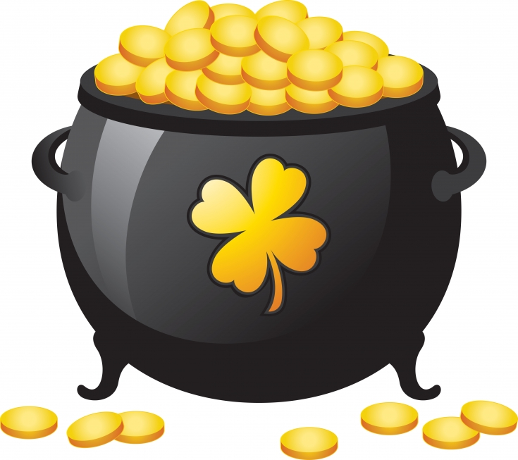Pot of Gold Clip Art ..