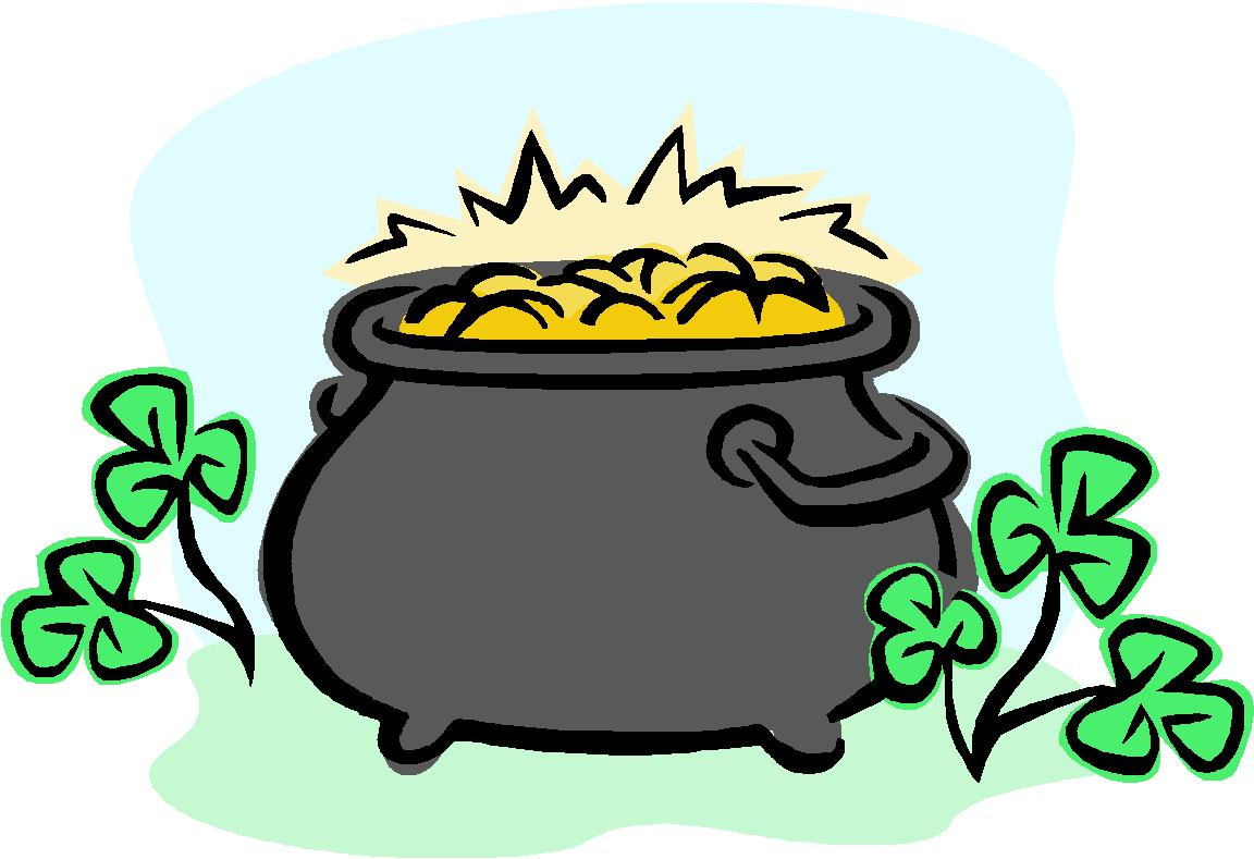 Pot Of Gold Clipart Clipart Panda Free Clipart Images