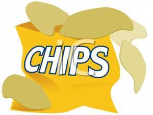 Potato Clip Art u0026middot;  - Potato Chip Clip Art