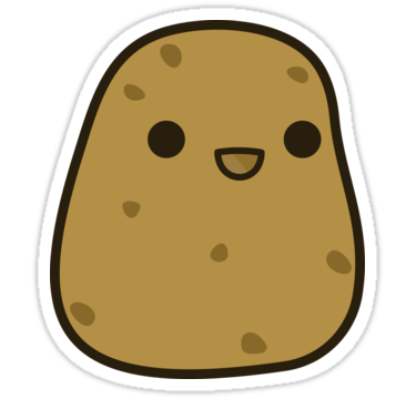 Potato Clipart PNG 210x202 - Potato PNG Transparent Free Images