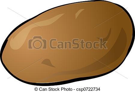 . ClipartLook.com Potato - Sketch Of A P-. ClipartLook.com Potato - Sketch of a potato. Hand-drawn lineart look.-11