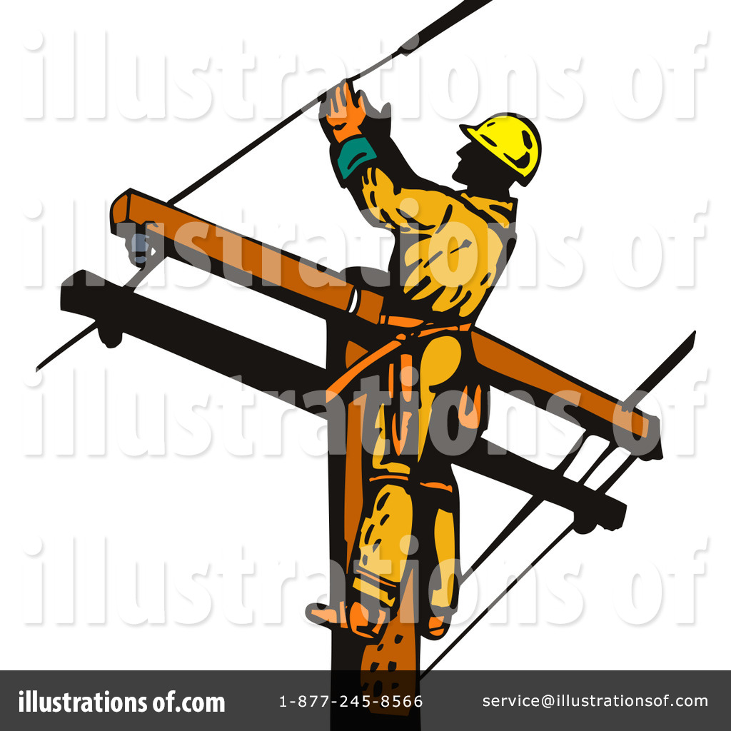 Power Lineman Clip Art